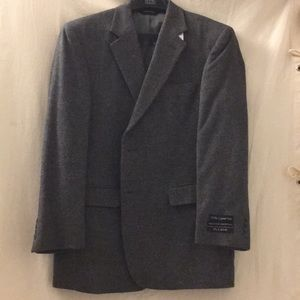 Jos A Bank pure camel hair gray sports coat 42R